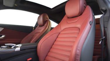 Mercedes C-Class Coupe - front seats