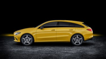 Mercedes CLA Shooting Brake - studio side