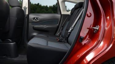 Nissan Note rear seat