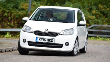 Used Skoda Citigo - front cornering