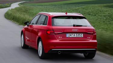 Audi A3 Sportback - rear