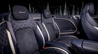 Bentley Continental GT Speed convertible - rear seats