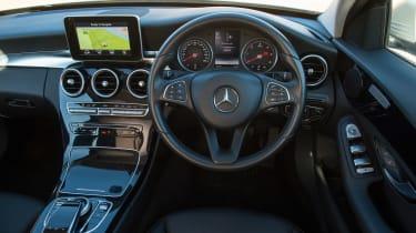 Used Mercedes C-Class Mk4 - dash