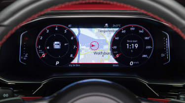 Volkswagen Polo GTI 2018 dials