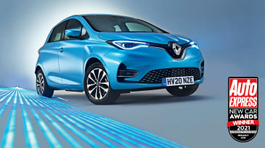Renault Zoe - New Car Awards 2021