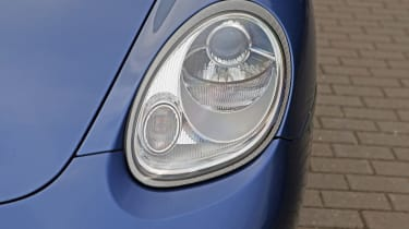 Used Porsche Boxster - front light detail