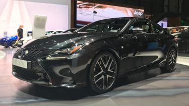 Lexus RC 300h F Sport Black Edition - front