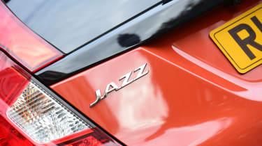 Honda Jazz long-term first report - Jazz badge