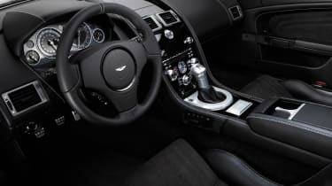 The cabin is slightly disappointing as it's made up with Jaguar and Volvo switchgear.