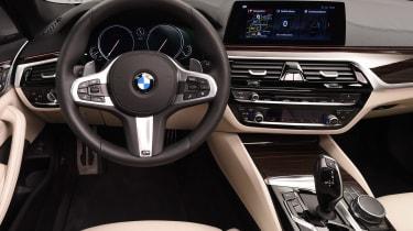 BMW 5 Series - studio interior