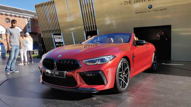 BMW M8 Convertible - Goodwood 2019