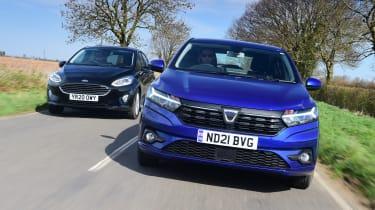 Used Ford Fiesta vs new Dacia Sandero