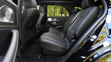 Mercedes GLE - rear seats