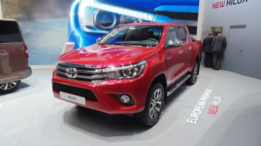 Toyota Hilux Geneva - front three quarter