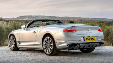 Bentley Continental GT Speed Convertible - rear static