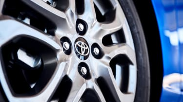 Toyota Yaris - wheel