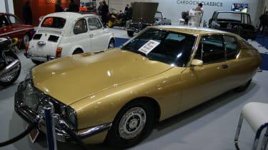 Citroen SM at the London Classic Car Show