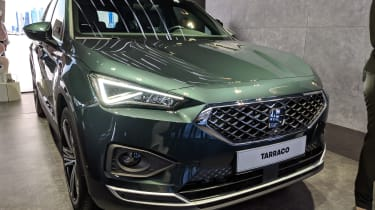 SEAT Tarraco front green