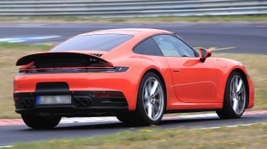 Porsche 911 rear spoiler