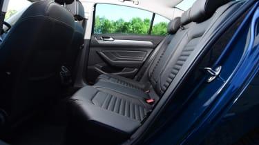 Volkswagen Passat rear seats