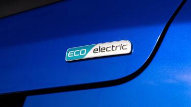 Kia Soul EV Boardmasters Edition - electric badge