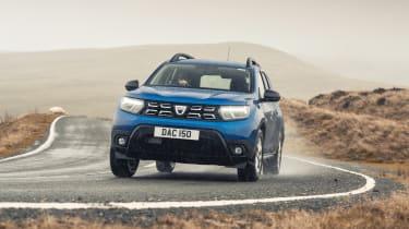 Dacia Duster 2021 facelift - cornering