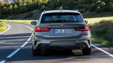 BMW 3 Series Touring - full rear