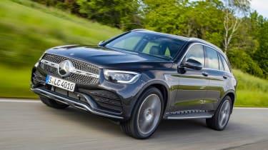 Mercedes GLC - front