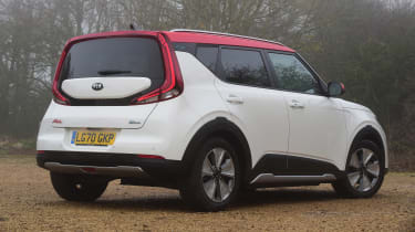 Kia Soul EV - rear static