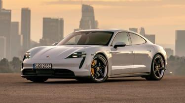 Porsche Taycan 4S - front static