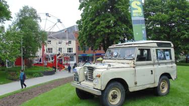 Coventry Motofest 2016 - Land Rover