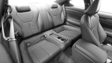 Infiniti Q60 - rear seats