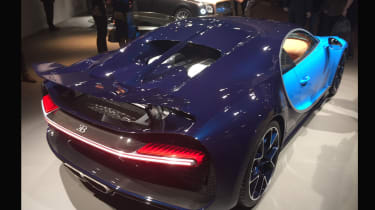 Bugatti Chiron Geneva 2016 - rear