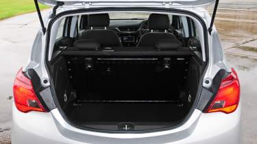 Vauxhall Corsa 2015 boot