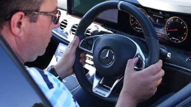 Mercedes-AMG E 63 S - steering wheel