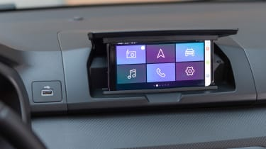 Dacia Sandero 2021 - screen