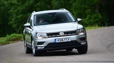 Volkswagen Tiguan - front cornering