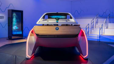 BMW HoloActive touch concept - full rear