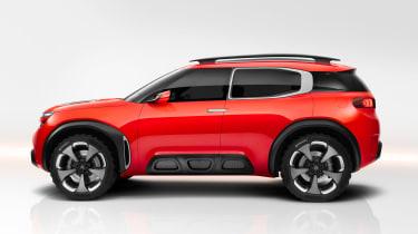 Citroen Aircross concept - side