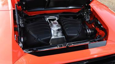 Lamborghini Huracan Evo Spyder - engine