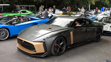 Goodwood Festival of Speed - Nissan GT-R50