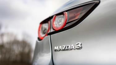 Mazda 3 e-SkyActiv X - Mazda 3 badge