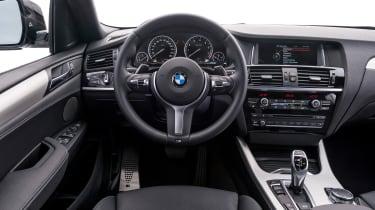 BMW X4 M40i - interior