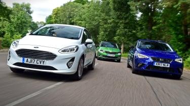 Ford Fiesta vs SEAT Ibiza vs Skoda Fabia triple test