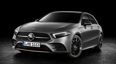 New Mercedes A-Class - studio front static