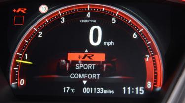Honda Civic Type R - dial