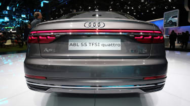 Audi A8 - Frankfurt full rear