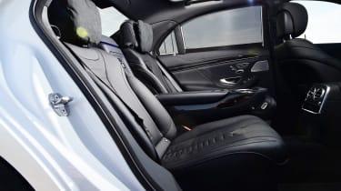 Mercedes S 560 e - rear seats side