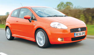 Fiat Grande Punto front tracking