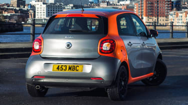 Used Smart ForFour - rear